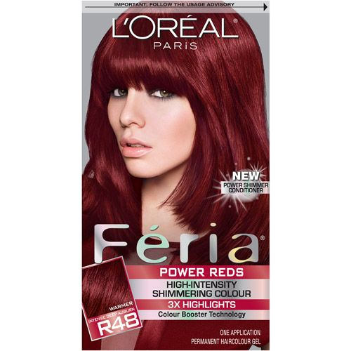 L'Oreal Feria Power Reds