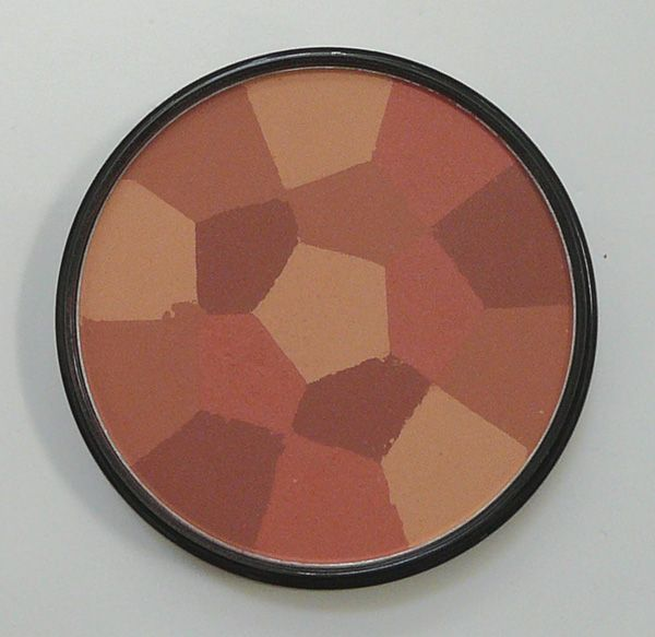 New York Color Color Wheel Mosaic Face Powder - Rose Glow (725A) [DISCONTINUED]