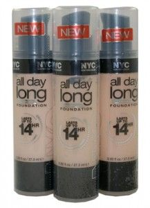 New York Color All Day Long Smooth Skin Foundation (lasts up to 14hr)