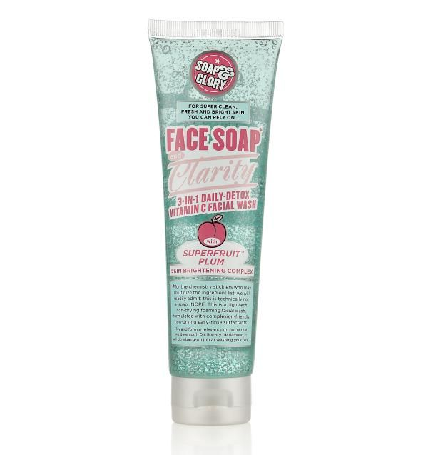 Soap & Glory Face Soap & Clarity 3-in-1 Daily Facial Wash