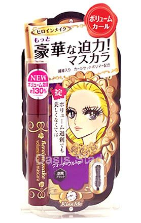 Isehan KissMe Heroine Make Volume and Curl Mascara Black