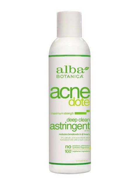 Alba Botanica Acnedote Deep Cleaning Astringent
