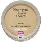 Neutrogena Mineral Sheers Loose Powder Foundation (All Shades)