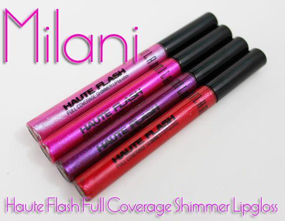 Milani Haute Flash Full Coverage Shimmer Lipgloss