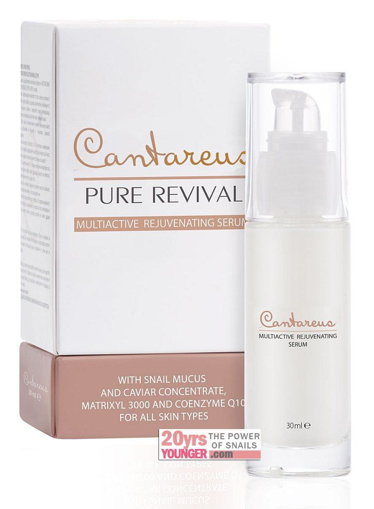 Cantareus Pure Revival - Multiactive Rejuvenating Serum