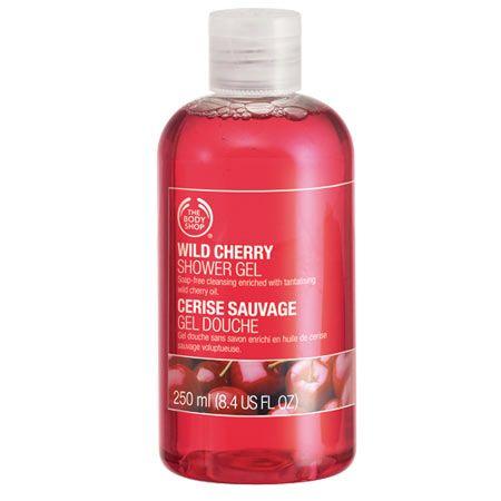 The Body Shop Wild Cherry Shower Gel