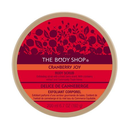 The Body Shop Cranberry Joy Body Scrub