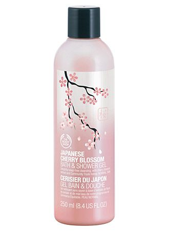 The Body Shop Japanese Cherry Blossom Bath & Shower Gel