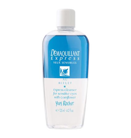 Yves Rocher Express Makeup Remover for Sensitive Eyes with Cornflower