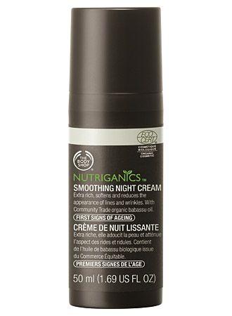 The Body Shop Nutriganics Smoothing Night Cream