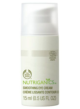 The Body Shop Nutriganics Smoothing Eye Cream
