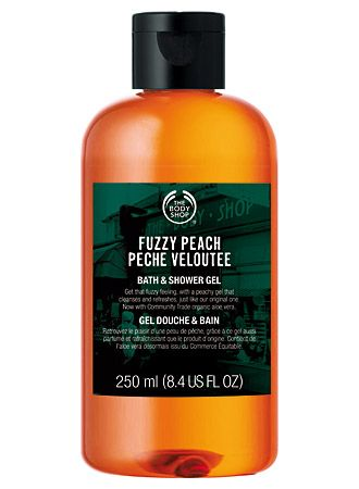 The Body Shop Fuzzy Peach Bath and Shower Gel