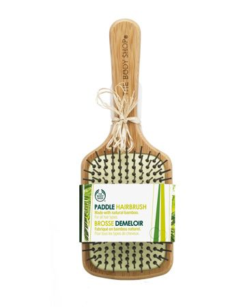 The Body Shop paddle hair brush