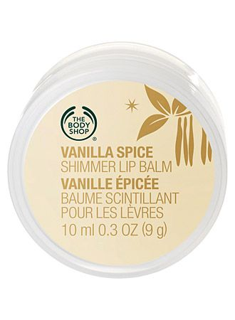 The Body Shop Vanilla Spice Shimmer Lip Balm