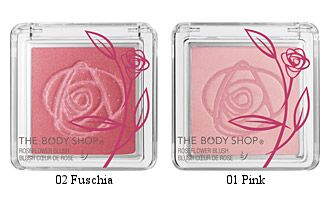 The Body Shop RoseFlower Blush