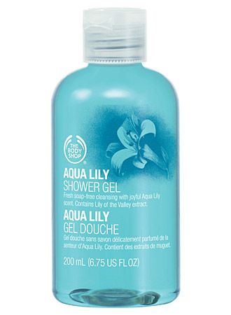 The Body Shop Aqua Lily Shower Gel