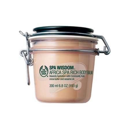The Body Shop Africa Spa Rich Cocoa Body Balm