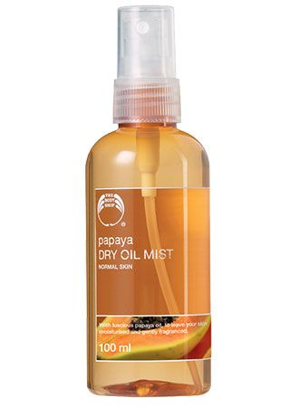 The Body Shop Papaya dry oil mist
