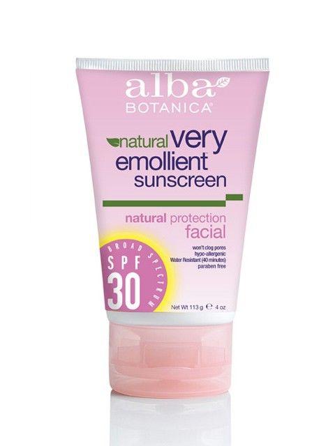 Alba Botanica Very Emollient Facial Sunblock 30