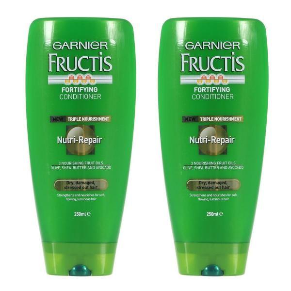Garnier Nutri-repair. For dull, dry, stressed out hair.