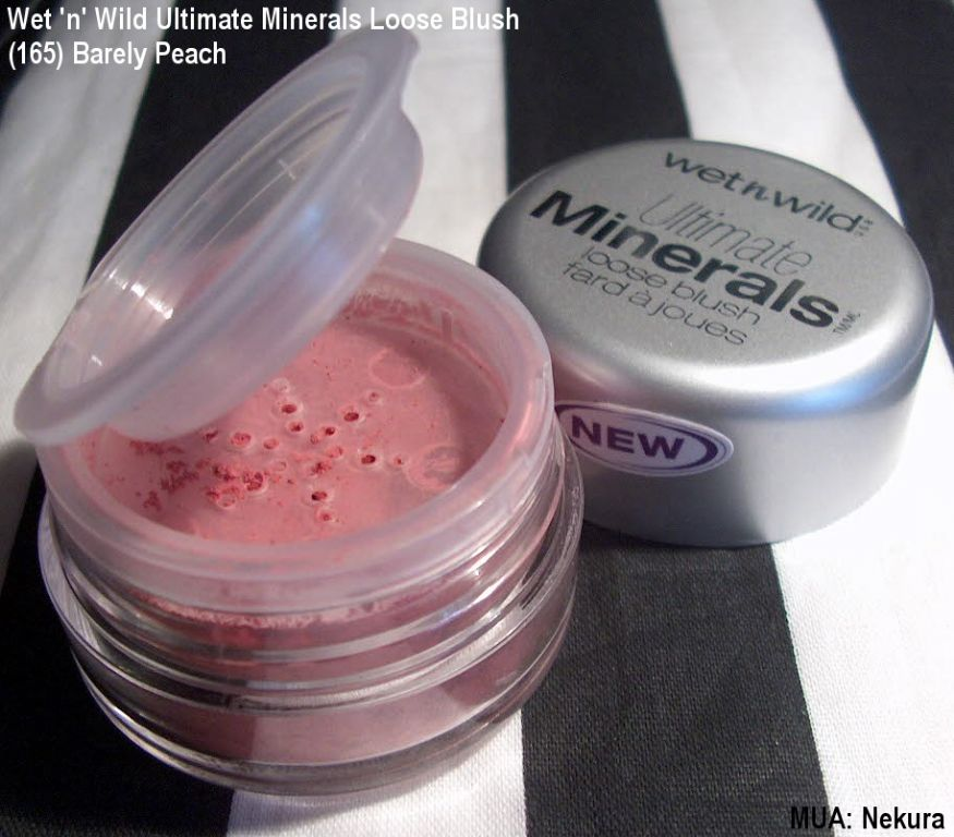 Wet 'n' Wild Ultimate Minerals Loose Blush - 165 Barely Peach