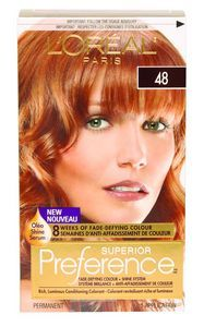 L'Oreal  PREFERENCE  Copper Blonde 48 Hair Colour