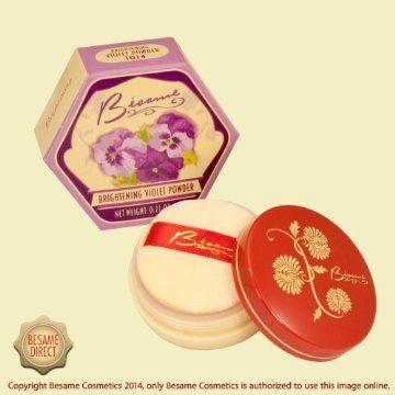 Besame Brightening Violet Powder