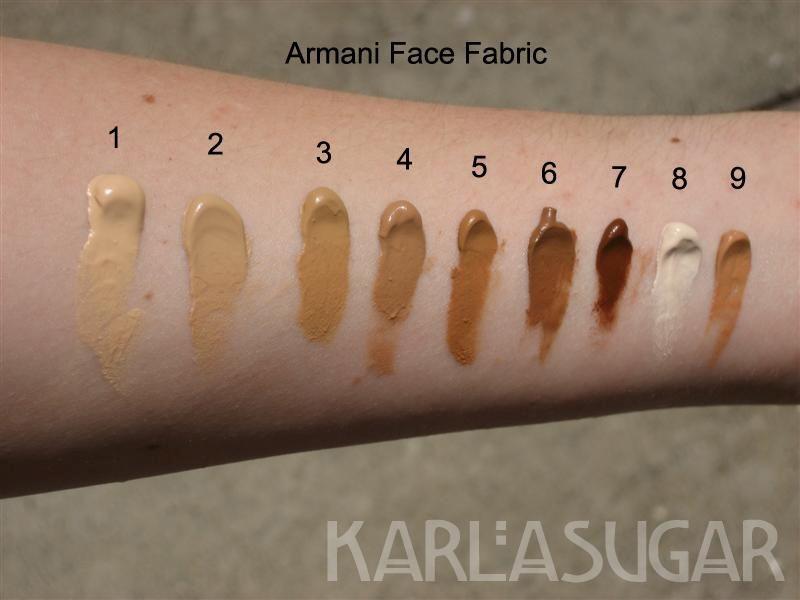 Giorgio Armani Face Fabric Second Skin Nude Makeup