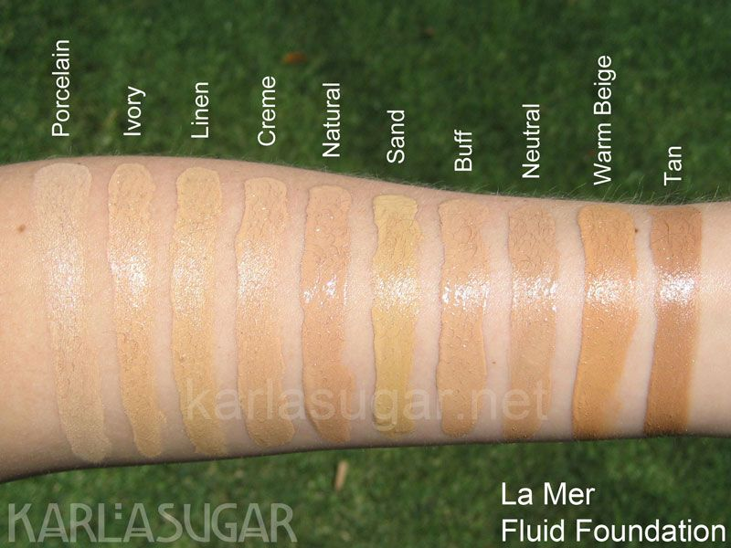 La mer skincolor de la mer the treatment fluid foundation spf 15