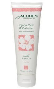 Aubrey Organics Jojoba Meal & Oatmeal Facial Mask & Scrub