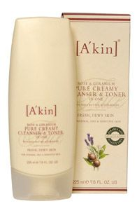 A'kin Rose and Geranium Cleanser and Toner in One