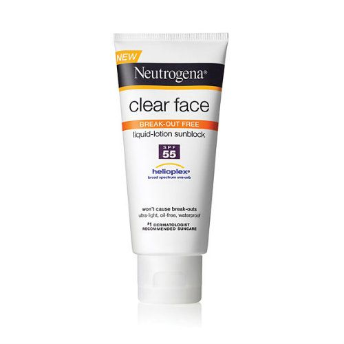 Neutrogena Clear Face Break-Out Free Liquid- Lotion Sunblock SPF 30