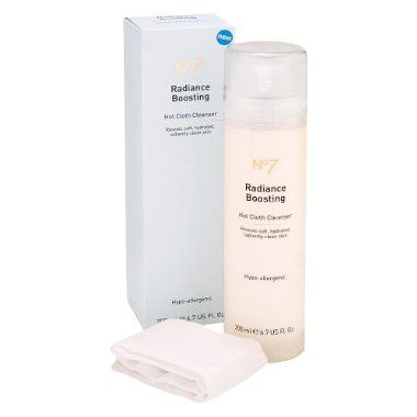 Boots  No 7 Radiance Boosting Hot Cloth Cleanser