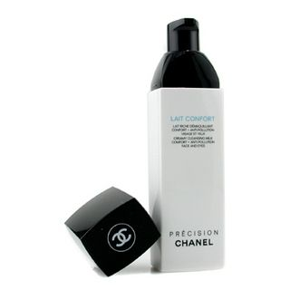 Chanel LAIT CONFORT creamy cleansing milk confort+Anti pollution-Face and eyes