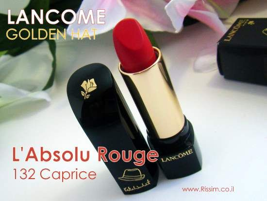 Lancome L'Absolu Rouge in 132 Caprice