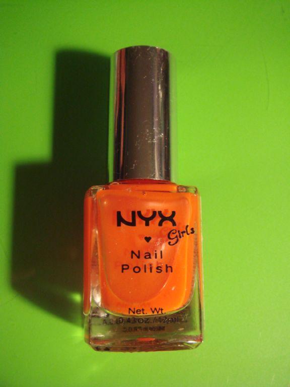 NYX Hot Orange
