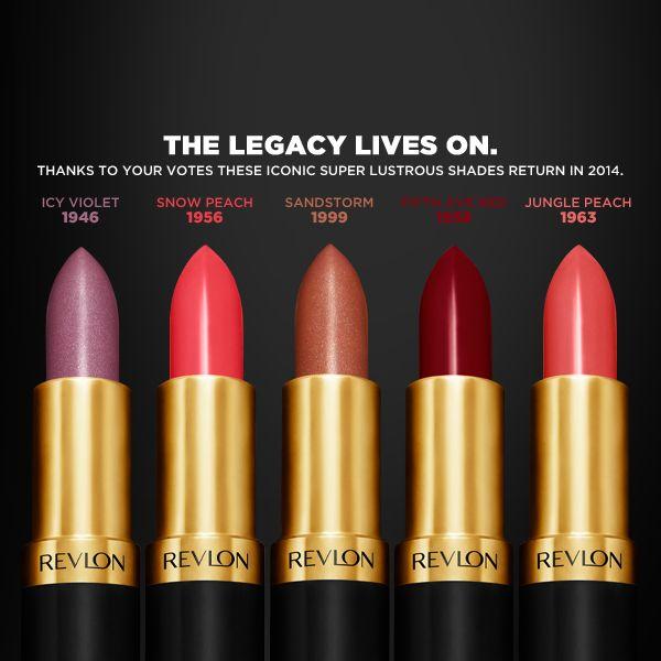 Revlon Super Lustrous Creme - Fifth Avenue Red