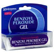 Walgreens Maximum Strength Benzoyl Peroxide Gel