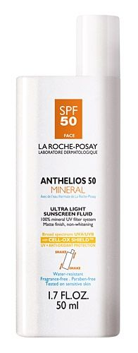 La Roche Posay Anthelios 50 Mineral Ultra Light Sunscreen Fluid