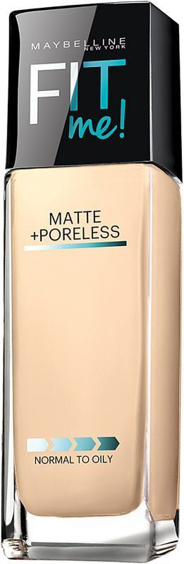 Maybelline FIT Me Foundation (Matte + Poreless)
