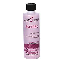 Beauty Secrets Acetone for natural nails polish remover