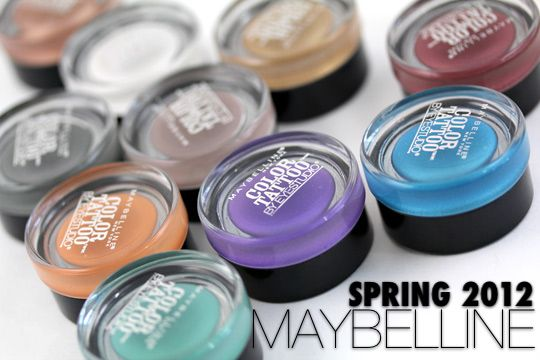 REVIEW: Maybelline Color Tattoo 24hr Eyeshadow (All Colors)