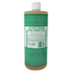 Dr. Bronner's Almond Castille Soap