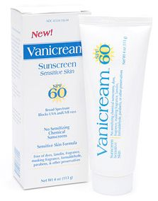 Vanicream SPF 60 Sensitive Skin Sunscreen