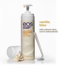 eos Ultra Moisturizing Shave Cream in Vanilla Bliss