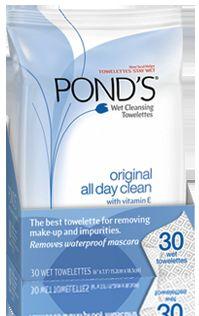 Ponds Original All Day Clean with Vitamin E