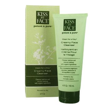 Kiss My Face Clean for a Day Creamy Face Cleanser