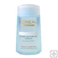 L'Oreal Dermo Expertise Gentle Eye Make Up Remover for Eyes and Lips