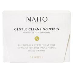 Natio Gentle Cleansing Wipes with Green Tea & Chamomile