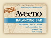 Aveeno Balancing Bar with Natural Colloidal Oatmeal for Combination Skin